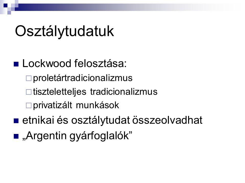 Szakszervezetek XIX.sz.