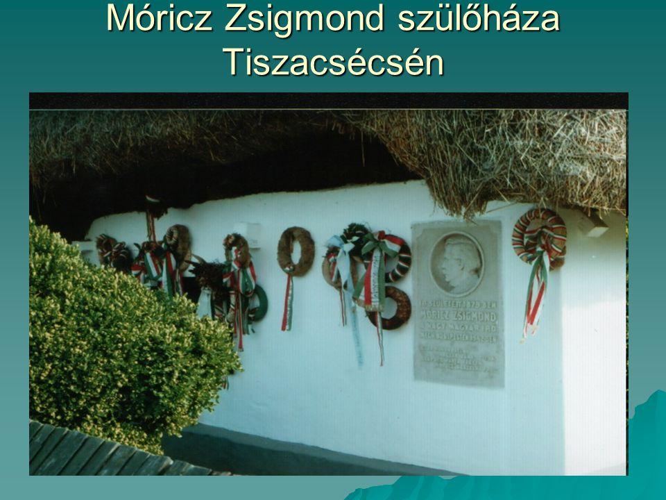 Móricz Zsigmond szülőháza Tiszacsécsén