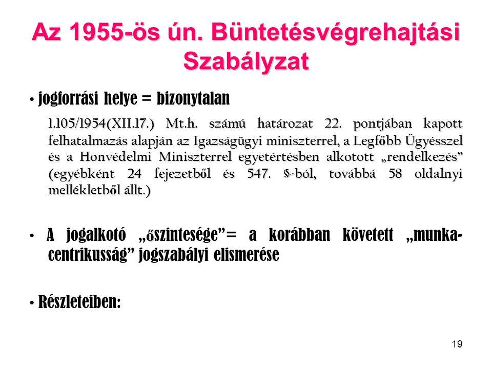 19 Az 1955-ös ún.