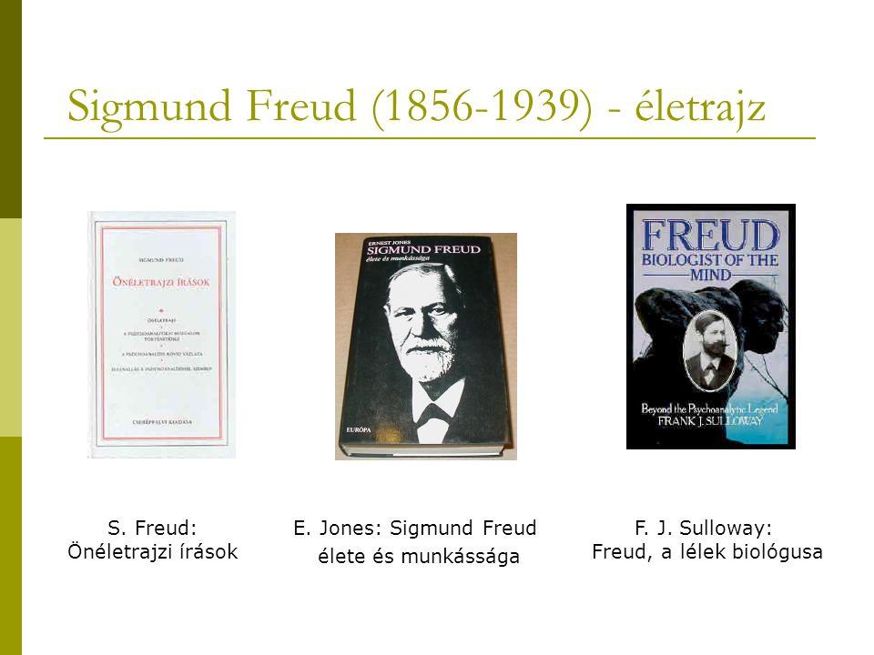 Sigmund Freud (1856-1939) - életrajz S.Freud: Önéletrajzi írások E.