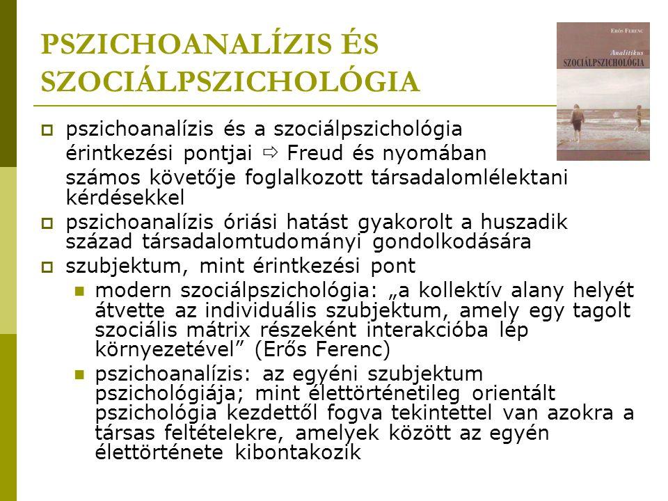 A pszichoanalízis tudománytörténeti és társadalmi kontextusa  Előzmények: Felvilágosodás (XVIII.