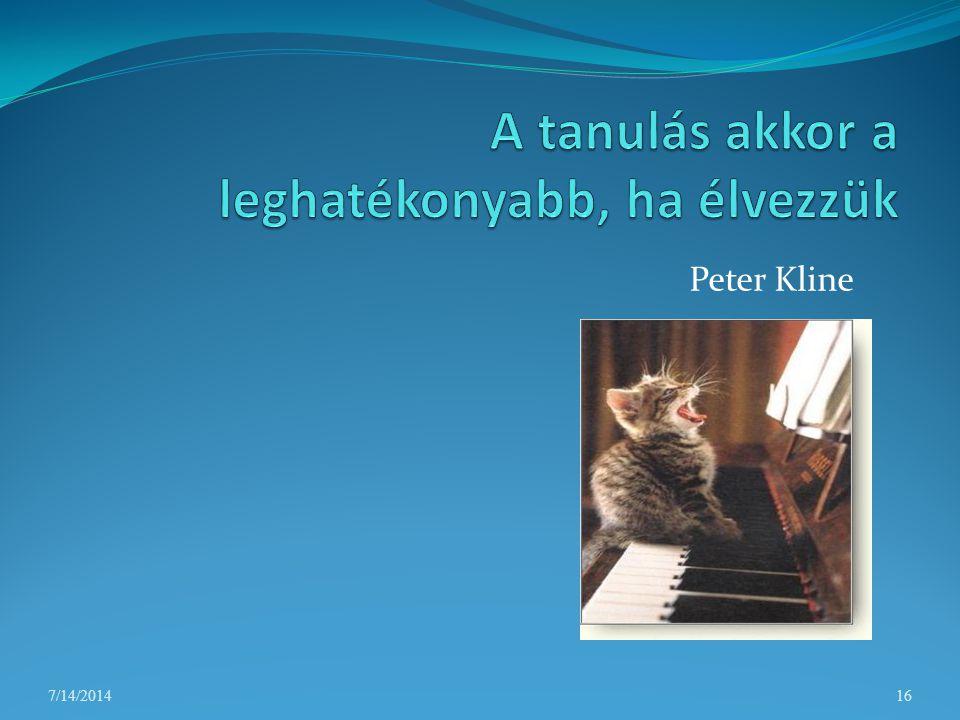 Peter Kline 7/14/201416