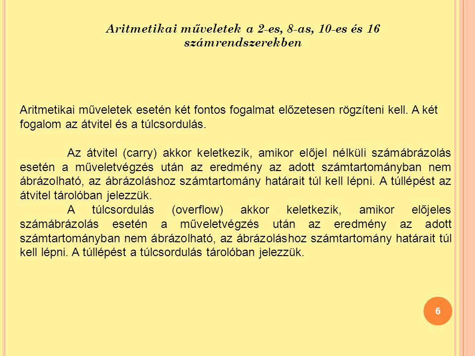 S ZÁMÍTÓGÉP BLOKKVÁZLATA 47