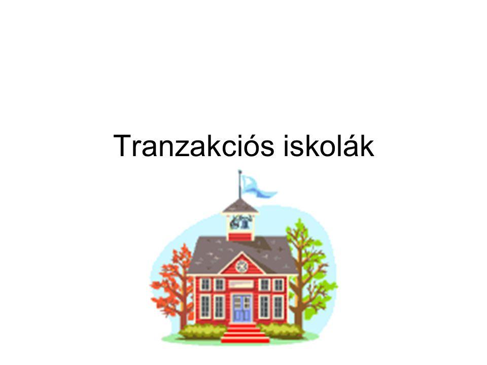 Tranzakciós iskolák