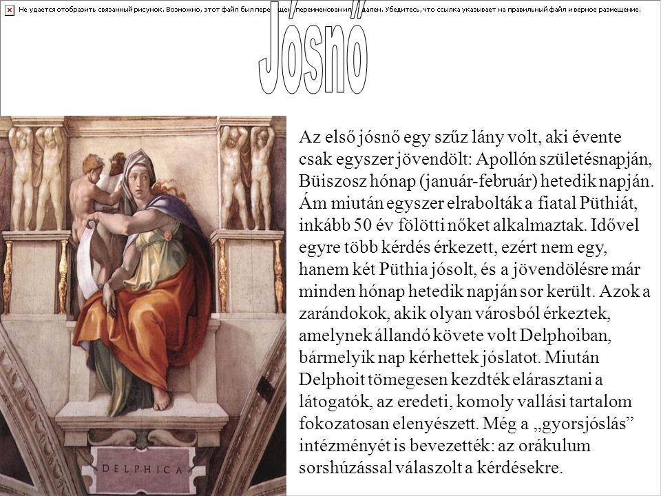 A Delphoi szentély a perzsa háborúk és a gyarmatosítás korában, az i.