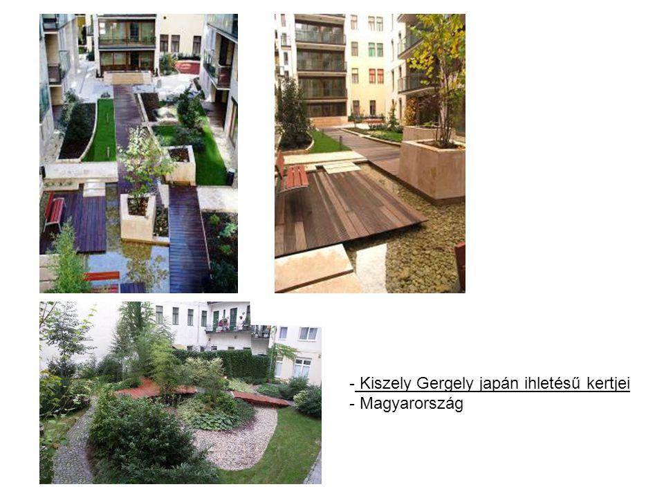 - Kiszely Gergely japán ihletésű kertjei - Magyarország