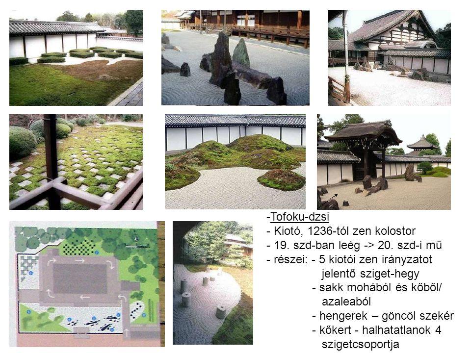 -Tofoku-dzsi - Kiotó, 1236-tól zen kolostor - 19.szd-ban leég -> 20.