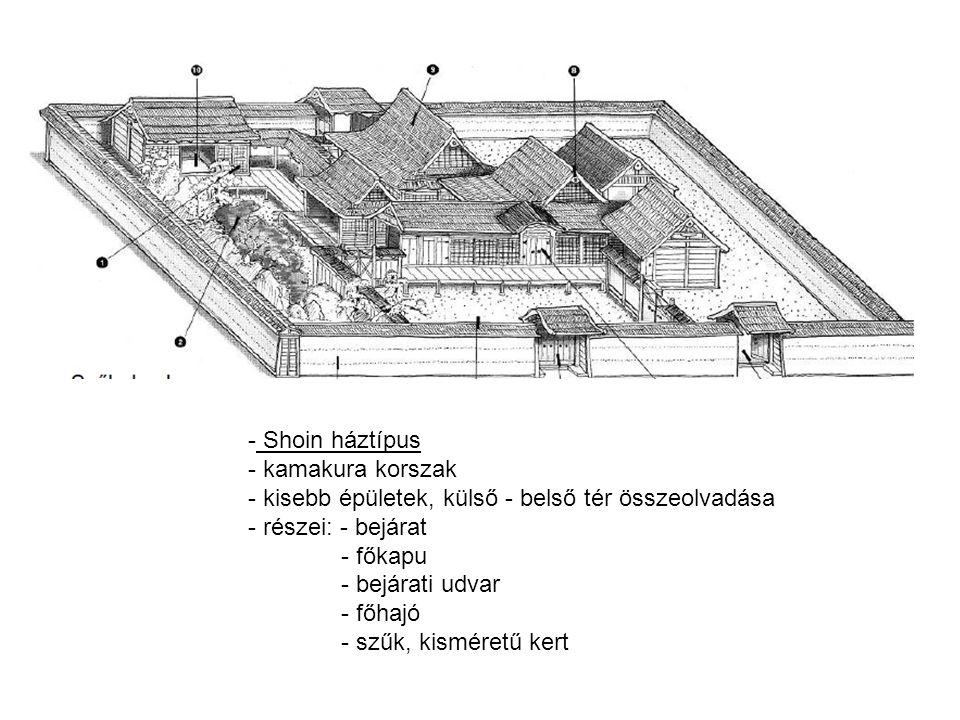 A B - Kokedera - 1333: Musó Szószeki zen szerzetes elsőként tervez zen-kertet - magányos elmélkedés, szemlélődés - A: szárazabb kőkert - B: tókert