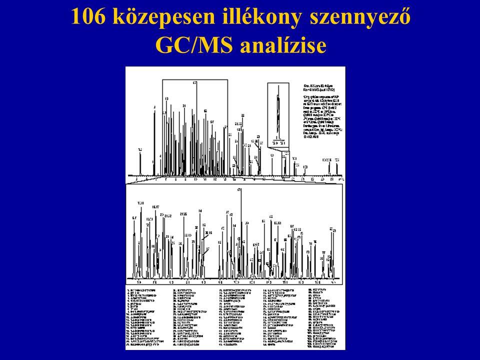 EPA 16 PAH analízise GC analízise