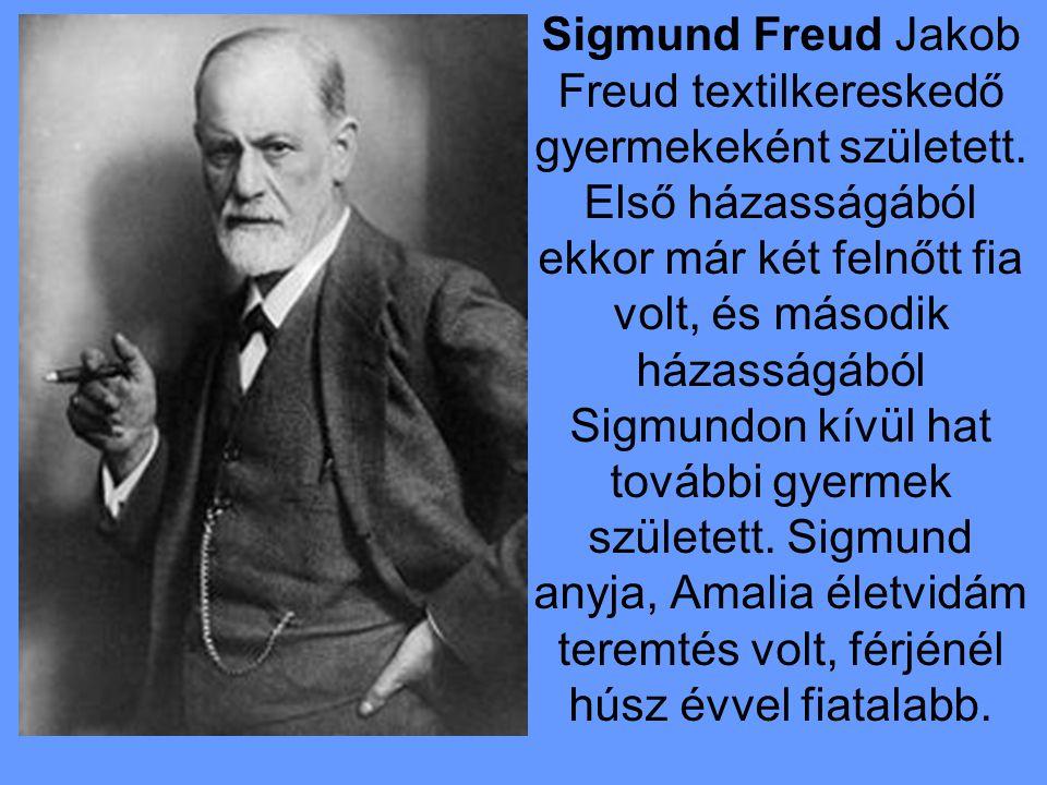 Sigmund Freud Jakob Freud textilkereskedő gyermekeként született.