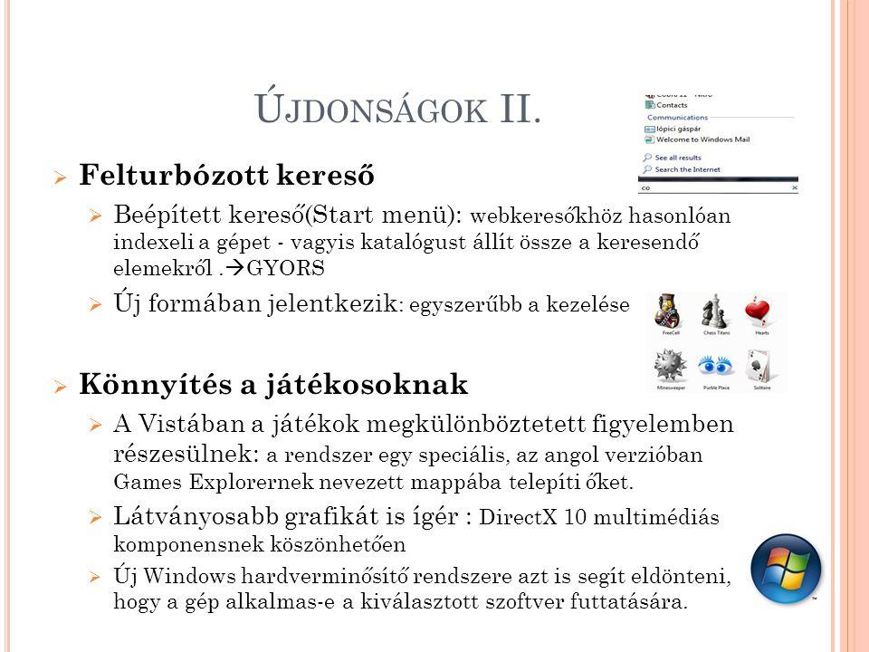 Ú JDONSÁGOK II.