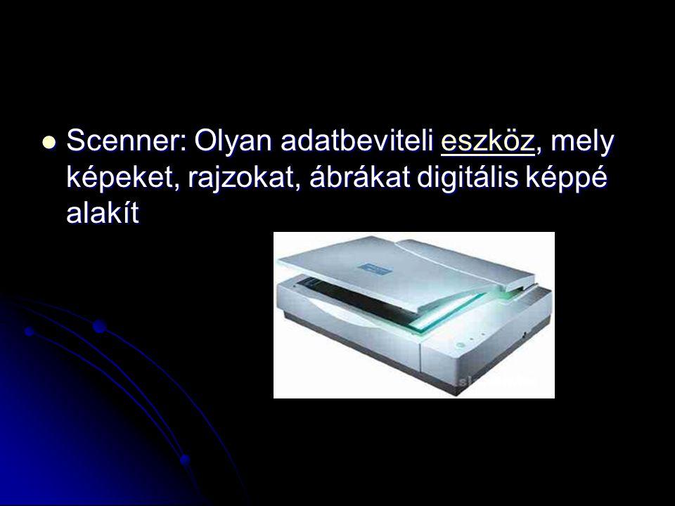 A számítógép a felhasználóval a monitoron, (képernyőn) keresztül kommunikál. Ez az egység nevezhető számítógépünk elsődleges, fő kimeneti perifériáján
