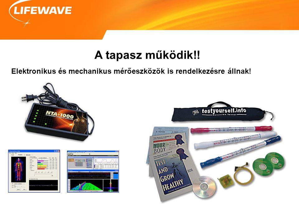 A tapasz működik!! Elektronikus és mechanikus mérőeszközök is rendelkezésre állnak!