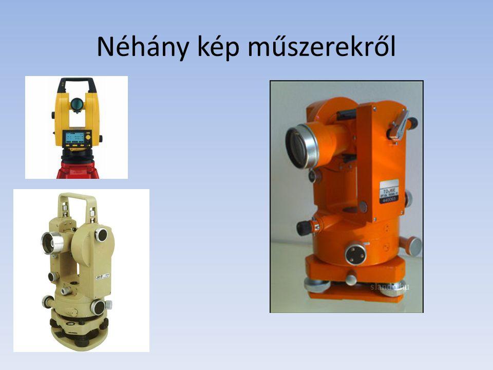 Néhány kép műszerekről