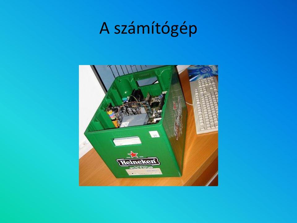 A számítógép felépítése Mi van a dobozban?