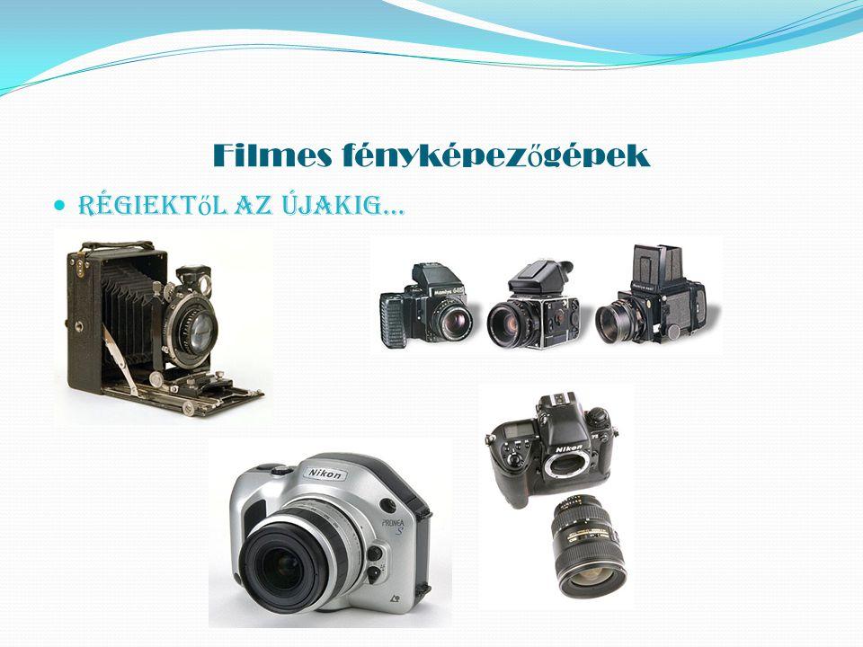 Digitális fényképez ő gépek Napjainkban igen elterjedtek.