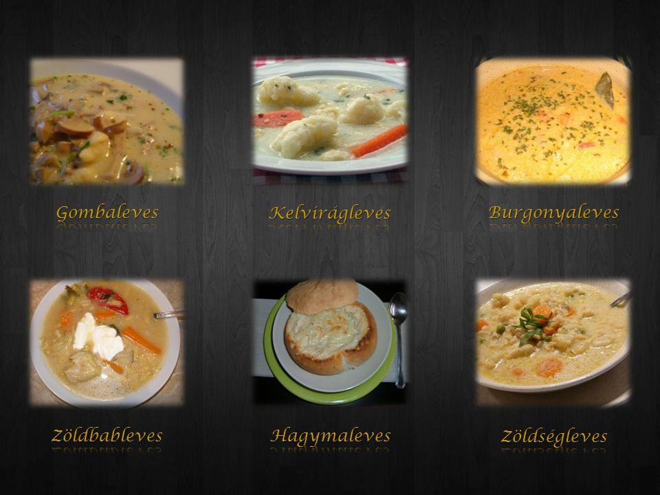 A leveseket a sûrítést követôen áttörjük.