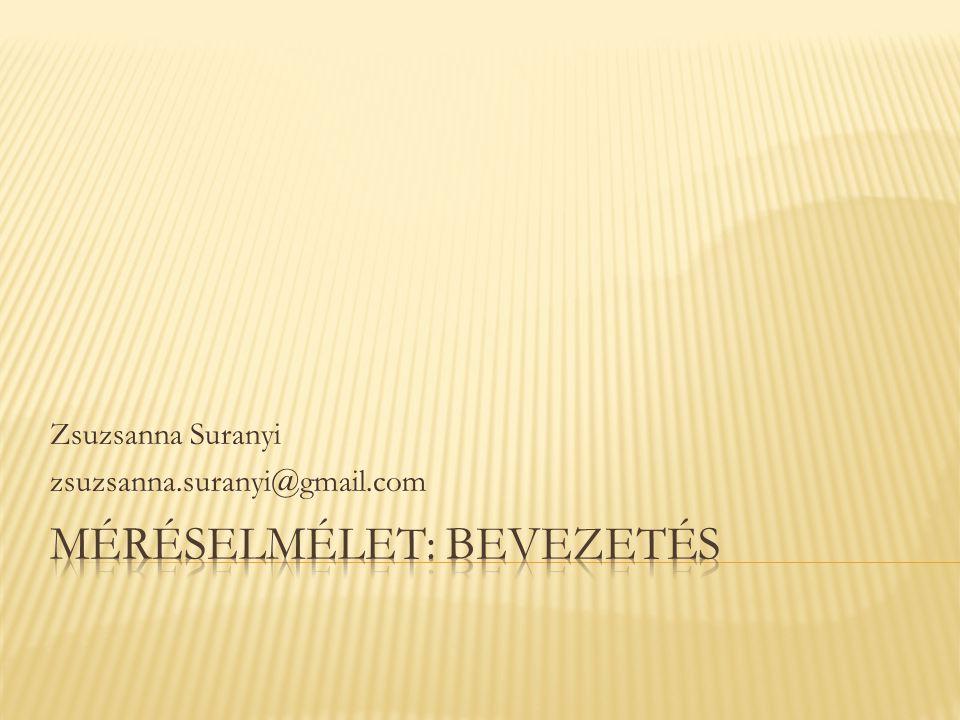 Zsuzsanna Suranyi zsuzsanna.suranyi@gmail.com