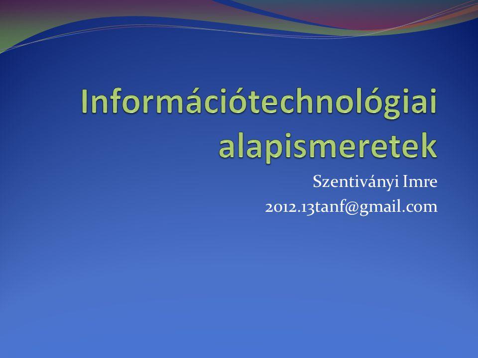 Szentiványi Imre 2012.13tanf@gmail.com