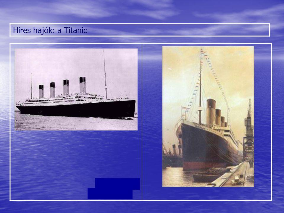 Híres hajók: a Titanic