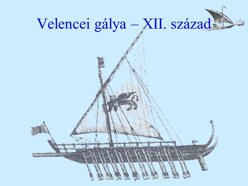 Velencei gálya – XII. század