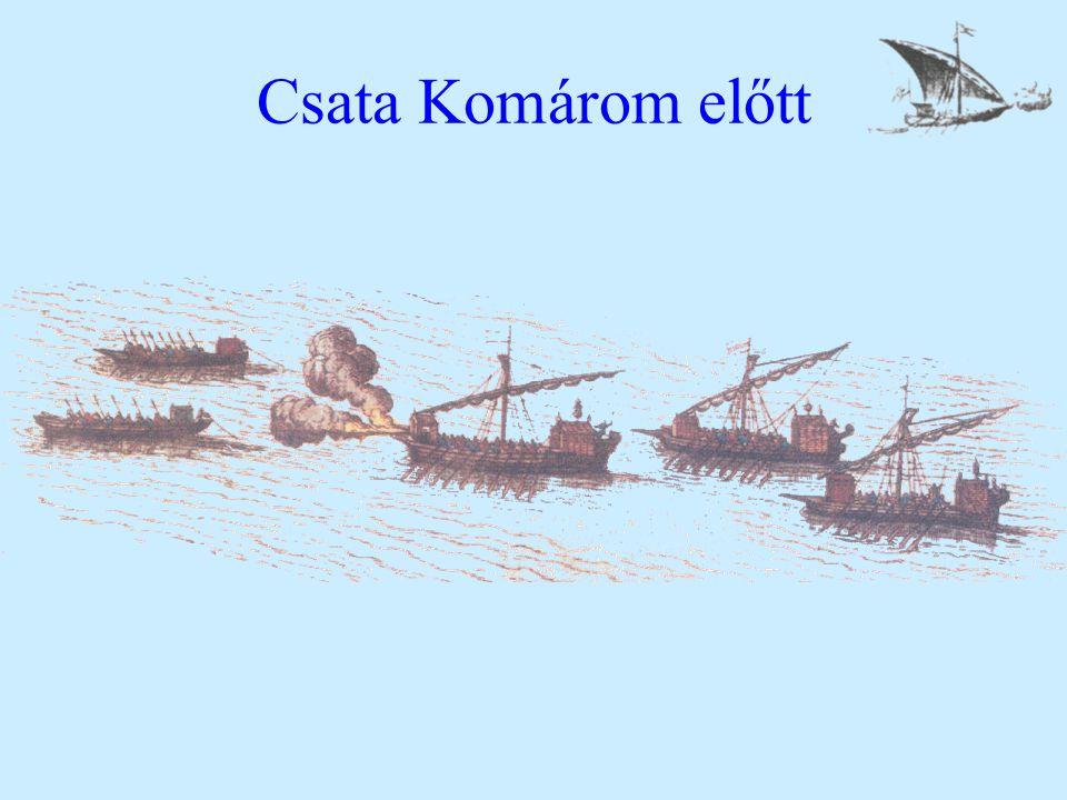 Csata Komárom előtt