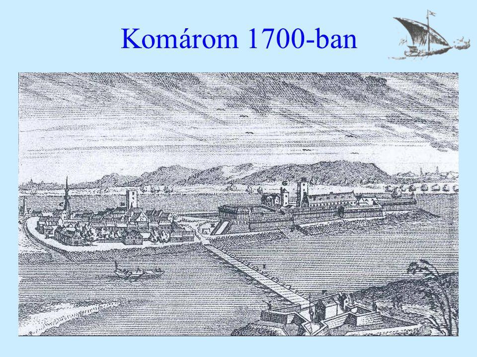 Komárom 1700-ban