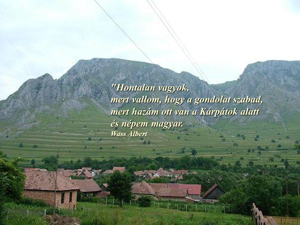 Kivándorolni egyik sem akar Együtt zeng éneket négy magyar.
