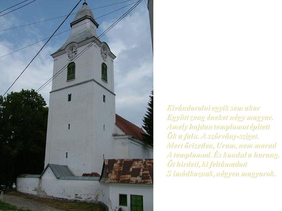 Csillagok ösvényén a szó, hozzád elér. Halkan szól csendes imánk, minden magyarért.