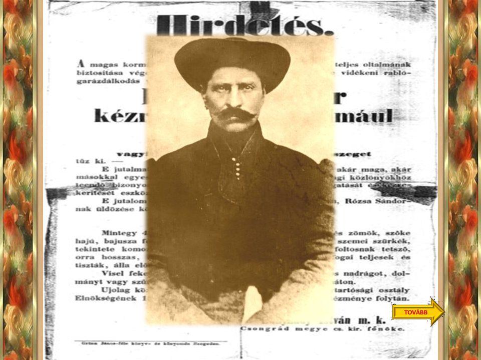 Szeged,1813. július 16. –Született a magyar történelem legismertebb betyárja, Rózsa Sándor, aki mindig szembeszállt a hatalommal. Neki köszönhetjük az