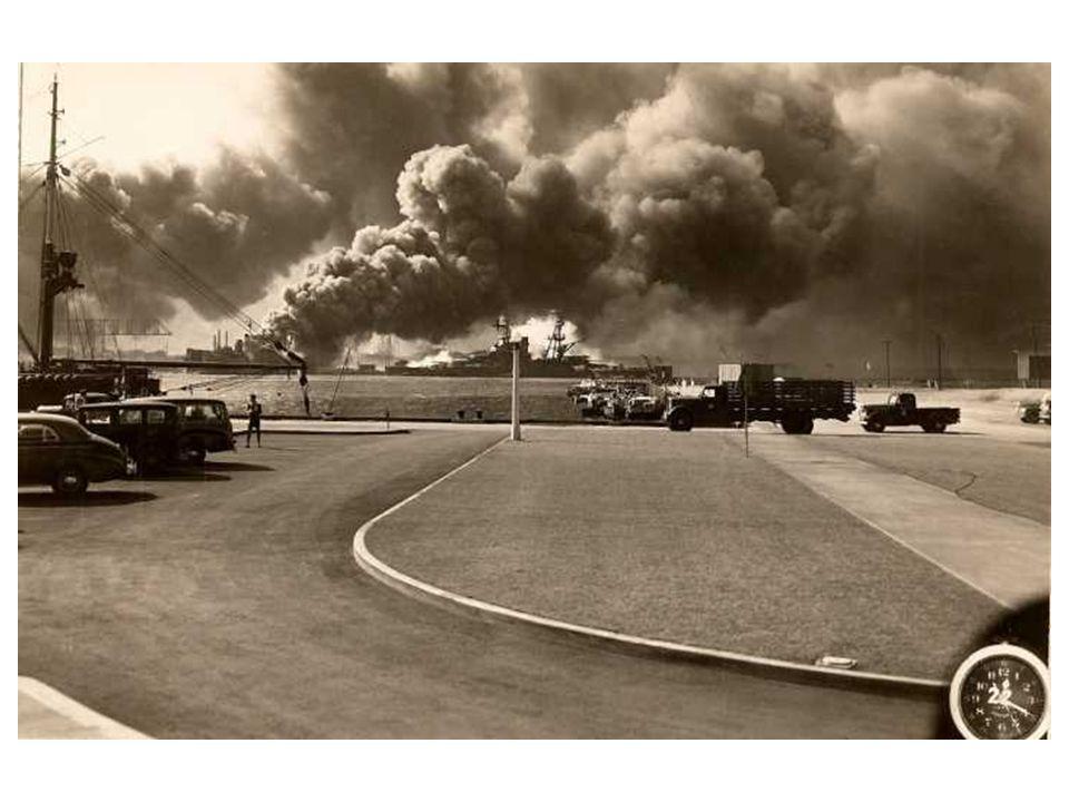 Pearl Harbor _______ 1941.