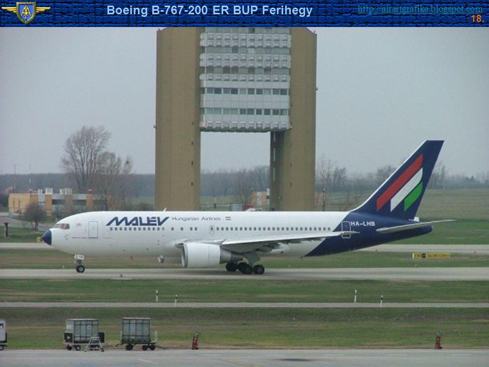 http://airartgrafika.blogspot.com Boeing B-767-200 ER BUP Ferihegy 18.