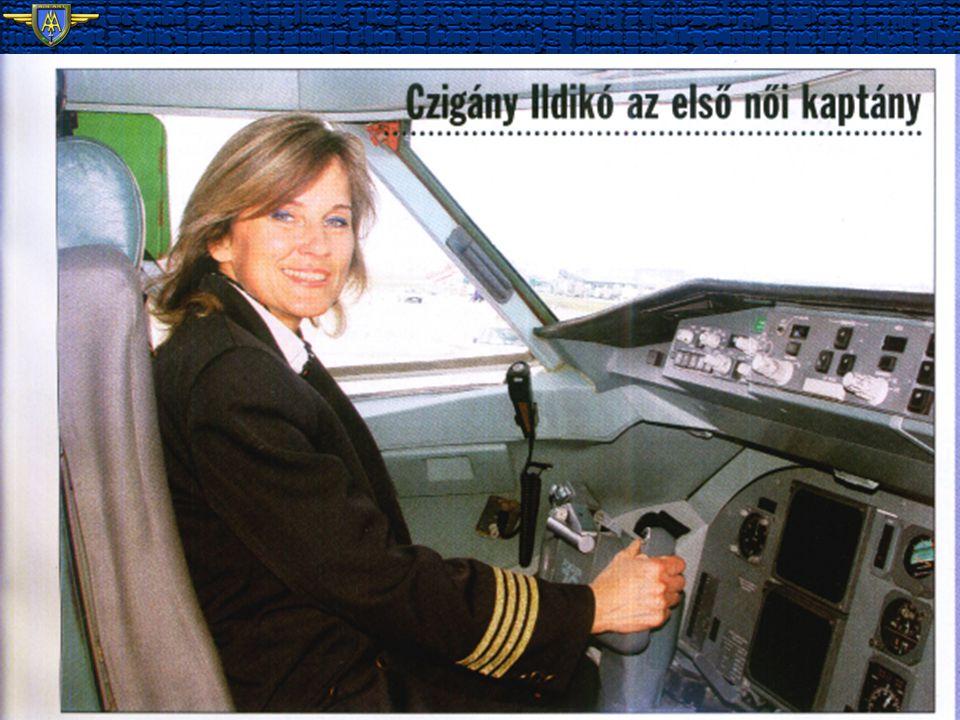 http://airartgrafika.blogspot.com F.70 MALÉV's First Woman Captain Czigány Ildikó 22.