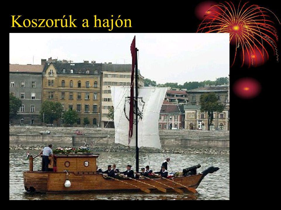 Bemutatkozás a Duna Ünnepen 2003. július 22.
