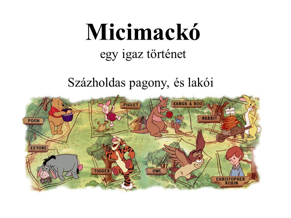 Micimackó egy igaz történet Százholdas pagony, és lakói