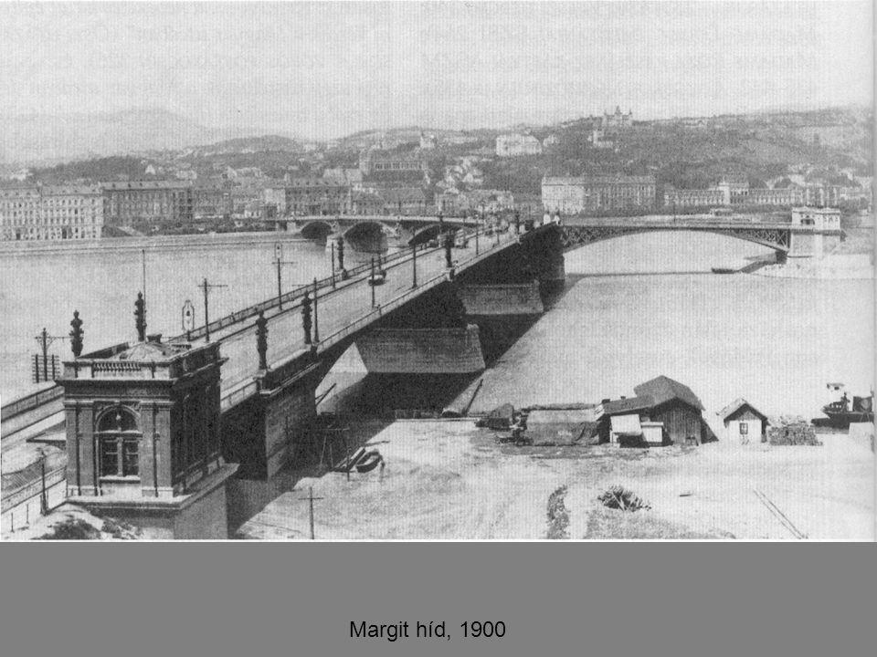 Margit híd, 1900