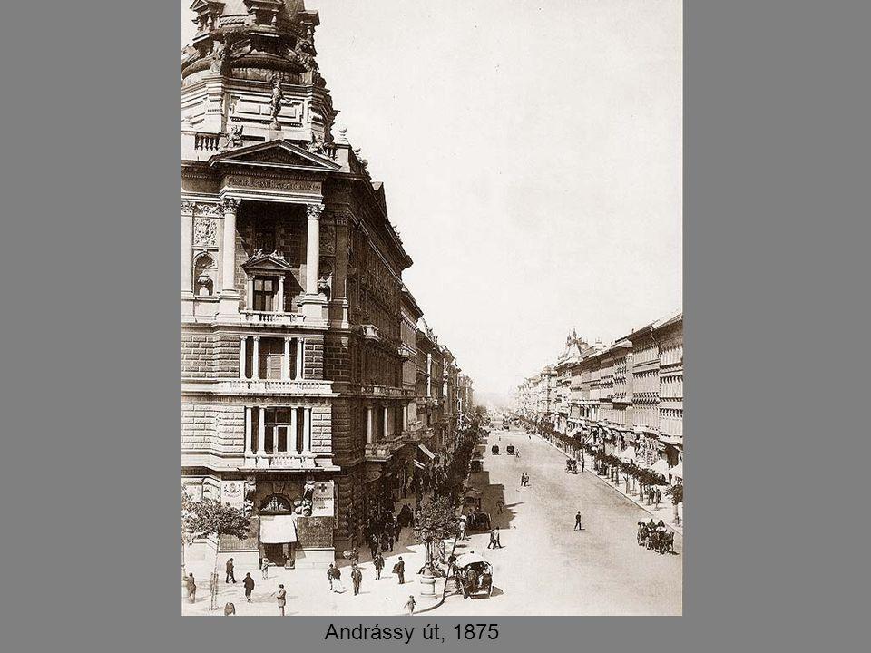 Andrássy út, 1875