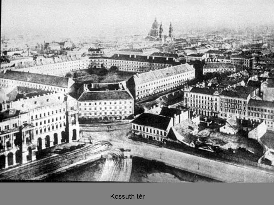 Vörösmarty téri fiakkerállomás, 1890