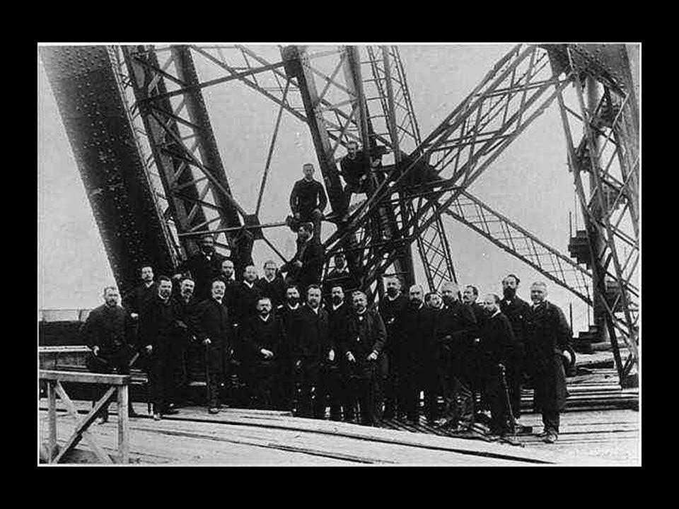 Az Eiffel-csapat mérnökei1889