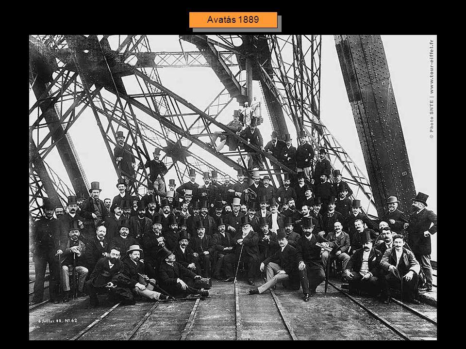 Az 1889. március 23-án befejezett torony