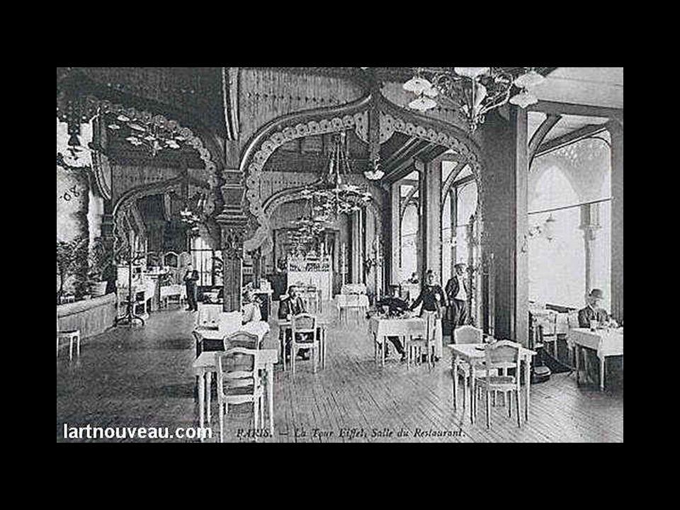 Az 1. emelet díszítése 1900-ban.
