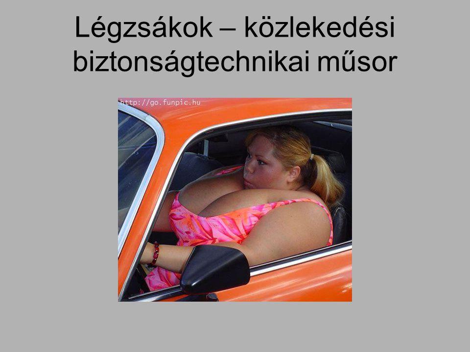 Légzsákok – közlekedési biztonságtechnikai műsor