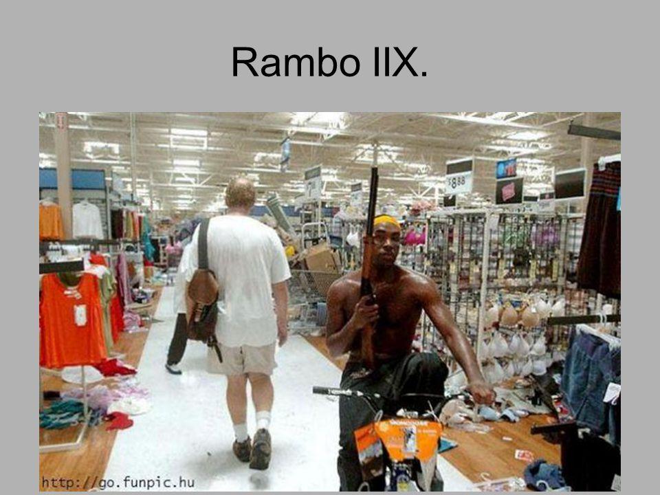 Rambo IIX.