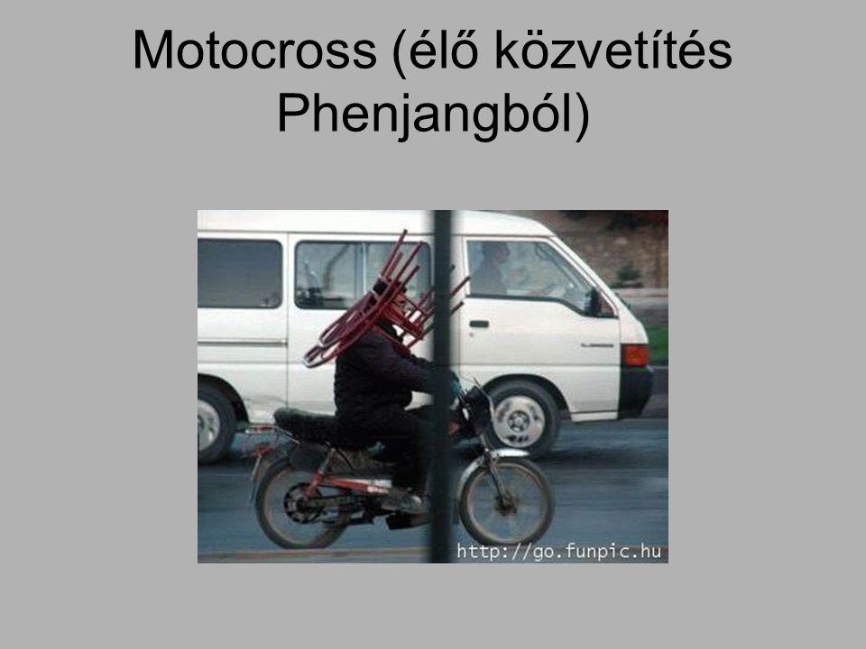 Motocross (élő közvetítés Phenjangból)