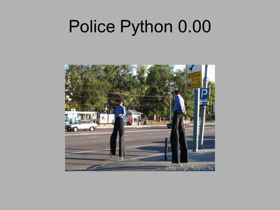 Police Python 0.00