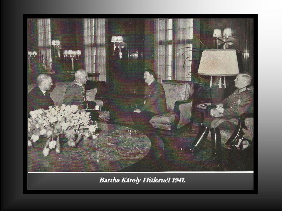 Kállay Miklós miniszterelnök és Joachim von Ribbentrop német birodalmi külügyminiszter