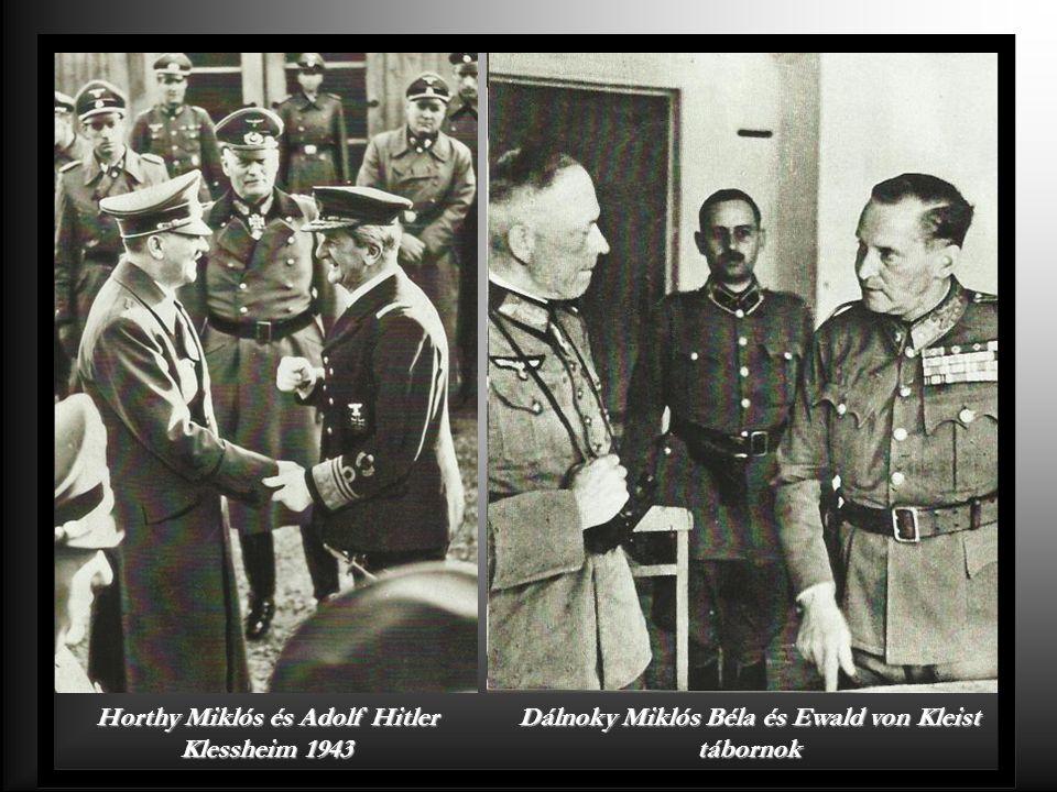 Bartha Károly Hitlernél 1941.
