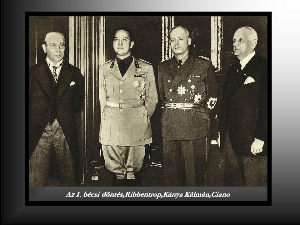 Horthy Miklós Hemann Göringgel egy vadászaton Obersalzberg 1936