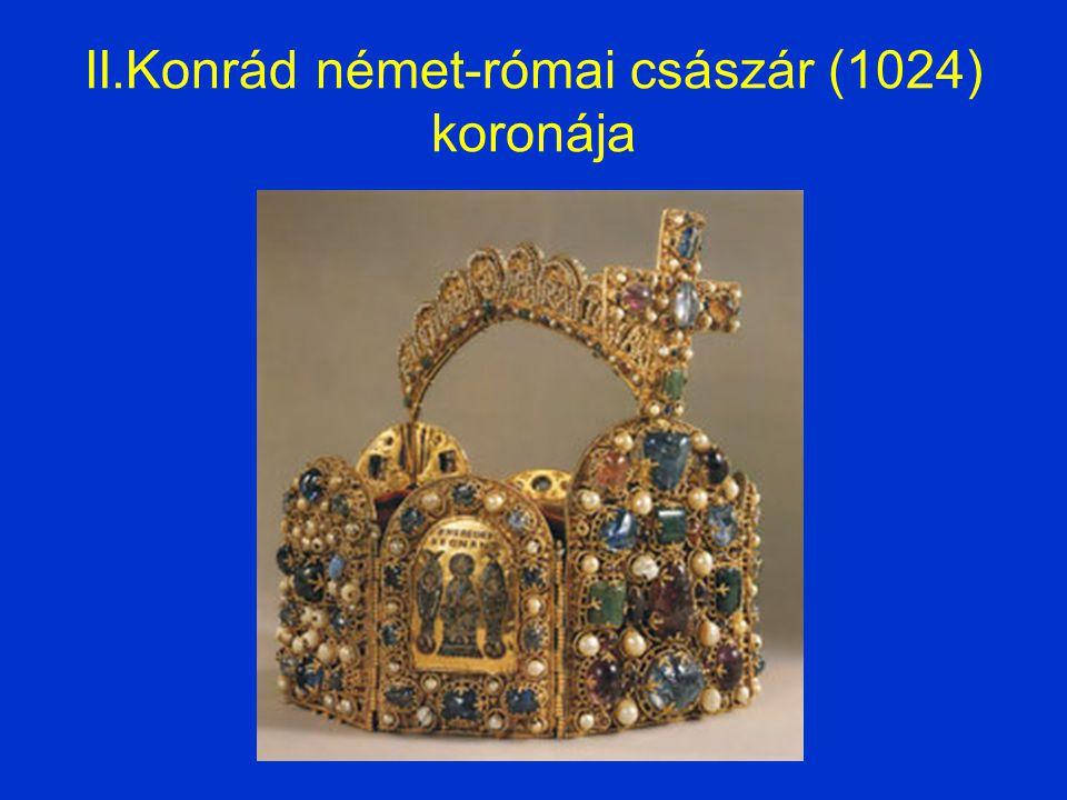 II.Konrád német-római császár (1024) koronája