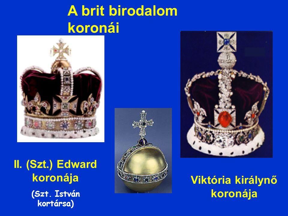 A brit birodalom koronái II.(Szt.) Edward koronája (Szt.